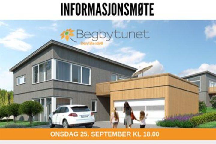 Informasjonsmøte – Begbytunet – Invitasjon